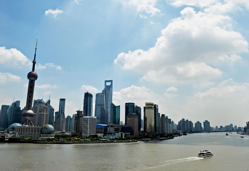 Emaar has opened two offices in China, one in Beijing and the other in Shanghai's [pictured] CBD.