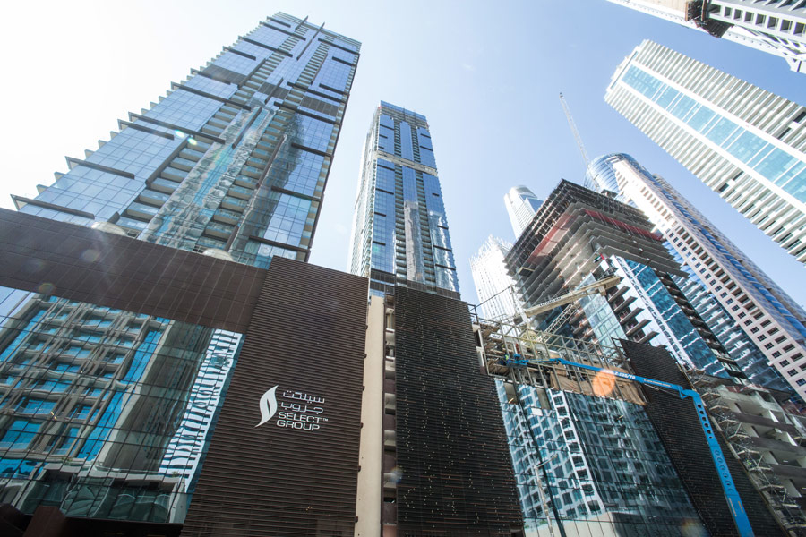 Marina Gate is a three-tower mixed-use lifestyle development by Select Group.