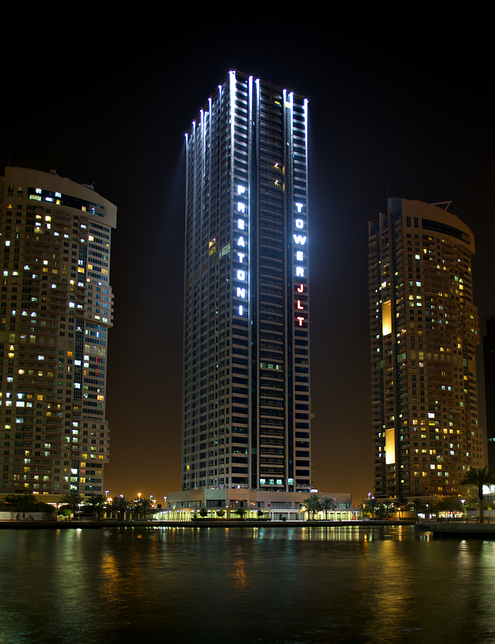 A European property developer has completed Preatoni Tower in Dubai's JLT.