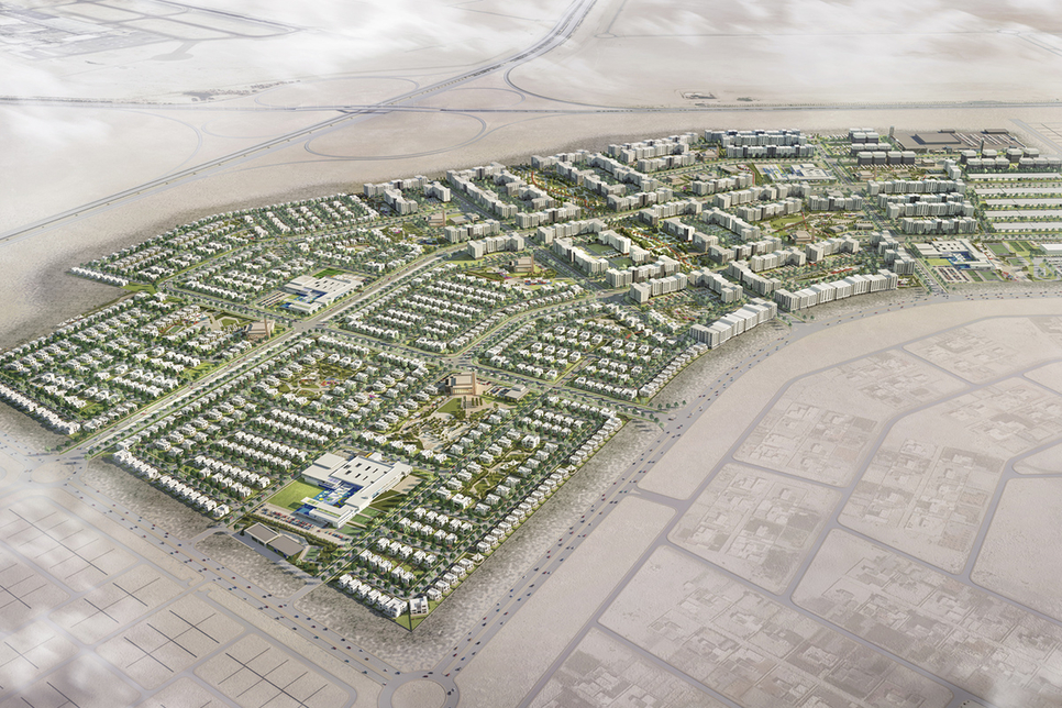Aldar Properties has launched the $544.5m mixed-use development Alreeman [pictured] in Abu Dhabi's Alshamkha.