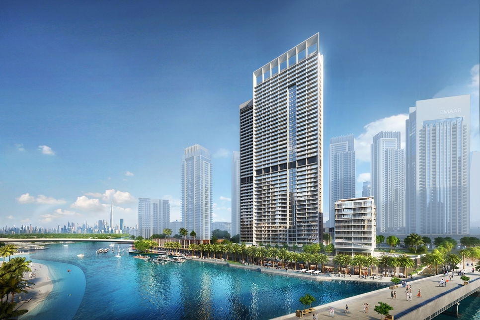 Palace Residences [pictured] is the latest development to be launched at Emaar and Dubai Holding's 600ha Dubai Creek Harbour megaproject.