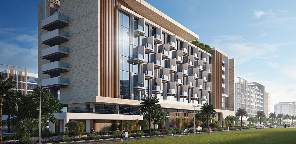 Azizi Riviera is a $3.2bn mixed-use waterfront development.