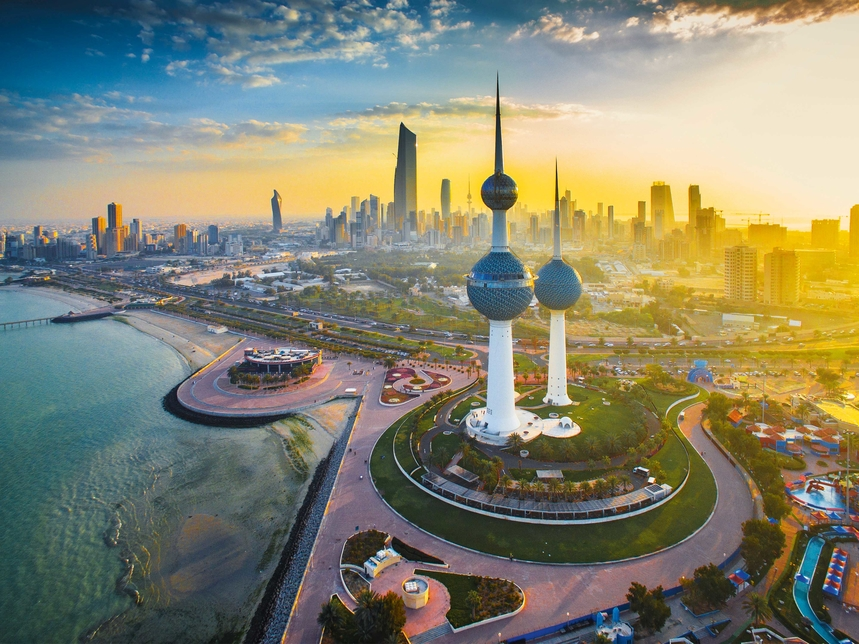 Kuwait's Vision 2035 programme is aimed at long-term growth through economic diversification and sustainability [representational image of Kuwait City].