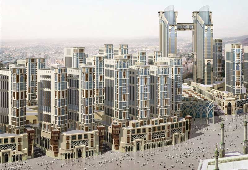 The 2km² Jabal Omar megaproject is within walking distance of Saudi Arabia's Grand Mosque in Makkah.