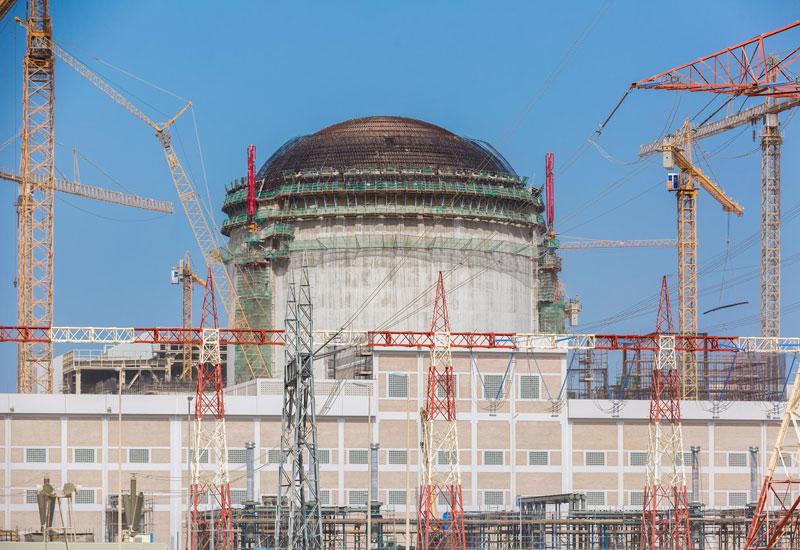 Barakah Nuclear Energy Plant is being built in Abu Dhabi.