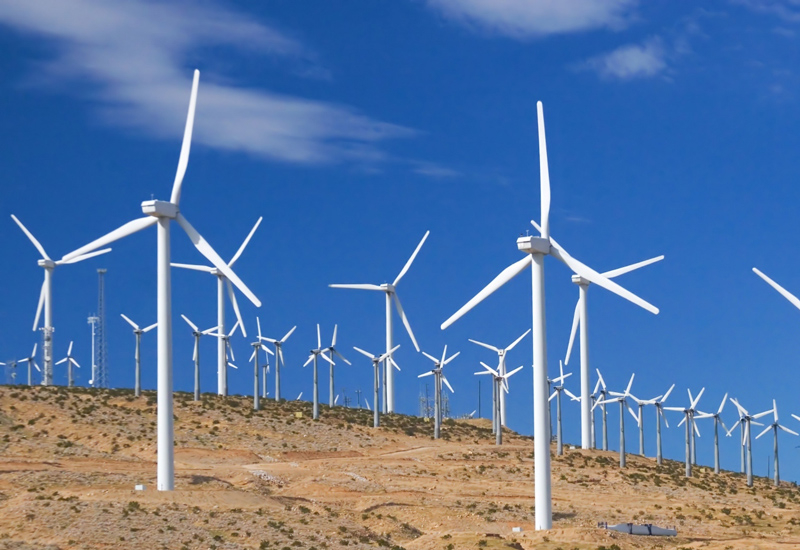 Alfanar's plans include a wind project [representational image].