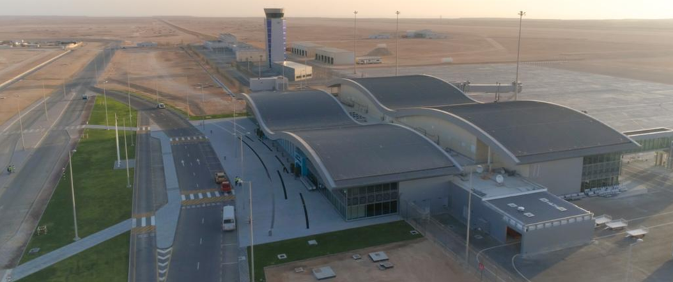 Duqm Airport will be a vital aviation hub in Oman approximately 500km from Muscat.