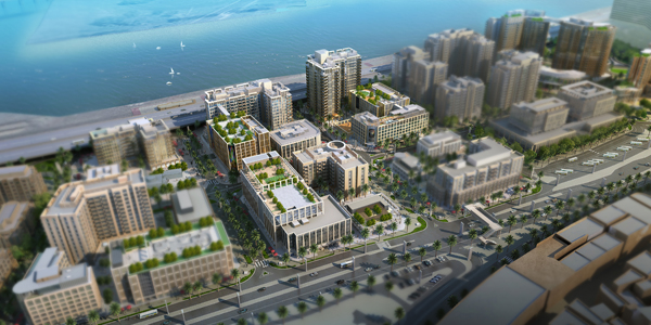 Beaver Gulf will work as main contractor for Plots 5, 7, and 8 of Deira Waterfront, an Ithra Dubai project.