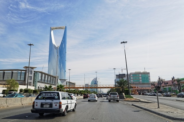 Saudi Arabia's capital city, Riyadh [representational].