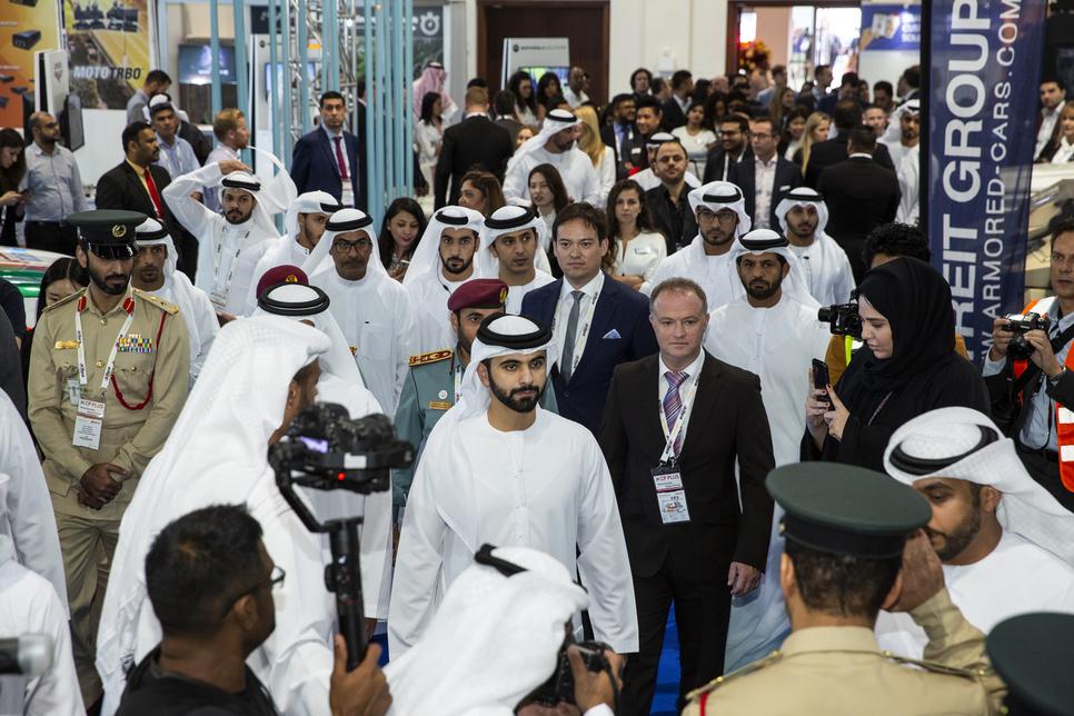 In pictures: HH Sheikh Mansoor inaugurates Intersec 2019 in Dubai
