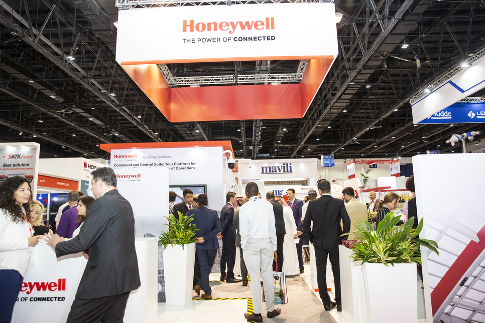 Honeywell is in discussions with Egypt and Saudi Arabia over both states' ongoing smart city smart city development plans [image: Intersec 2019].