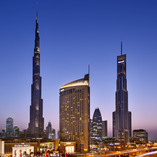 Abu Dhabi National Hotels will operate the Address Dubai Mall hotel as part of its deal with Emaar.