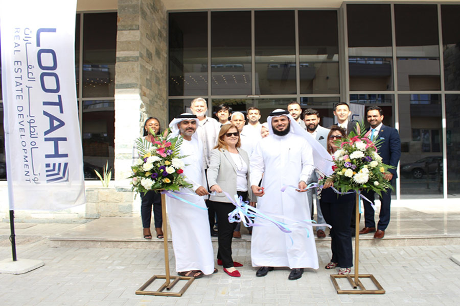 Lootah Real Estate Development officially opened its The Waves residential project in JVC, Dubai.