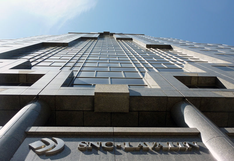 A diplomatic spat has impacted the prospects of Canada's SNC-Lavalin in Saudi Arabia.