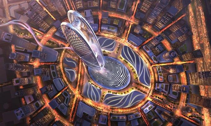 Dubai Holding's Burj Jumeira tower will rise 550m near Burj Al Arab.