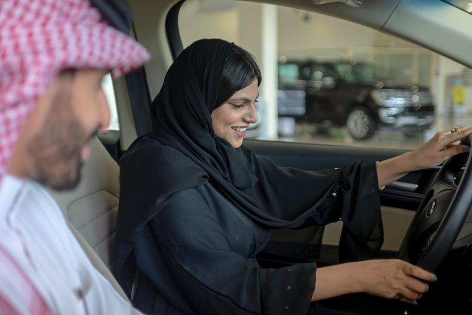 The growing number of Saudi Arabian women drivers will benefit the kingdom's automotive market [representational image].
