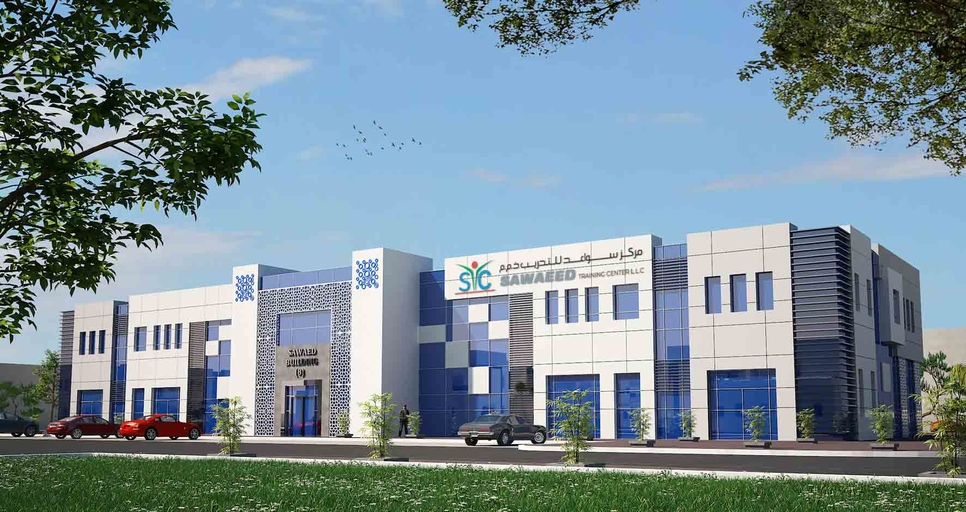 Sawaeed Training Centre is being built in Abu Dhabi for 2019 delivery.