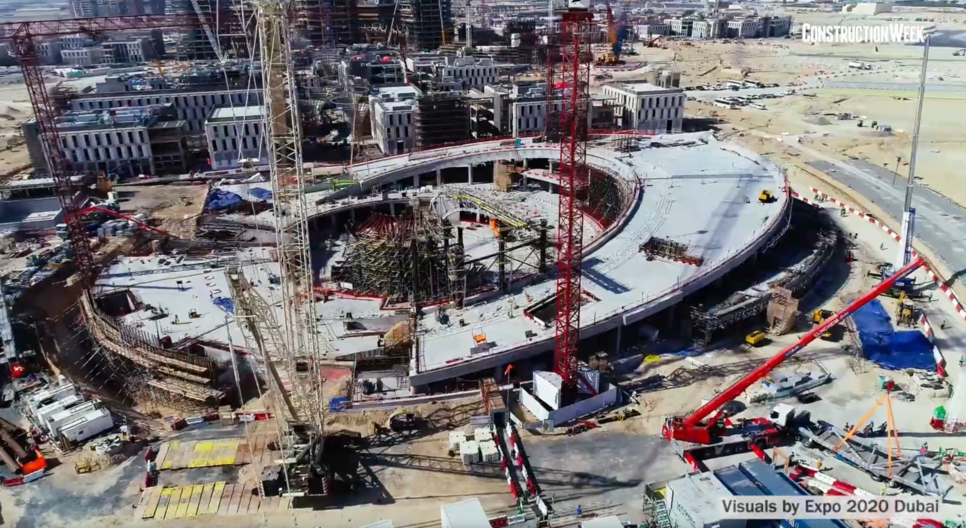 Siemens is connecting Expo 2020 Dubai's site to IoT.