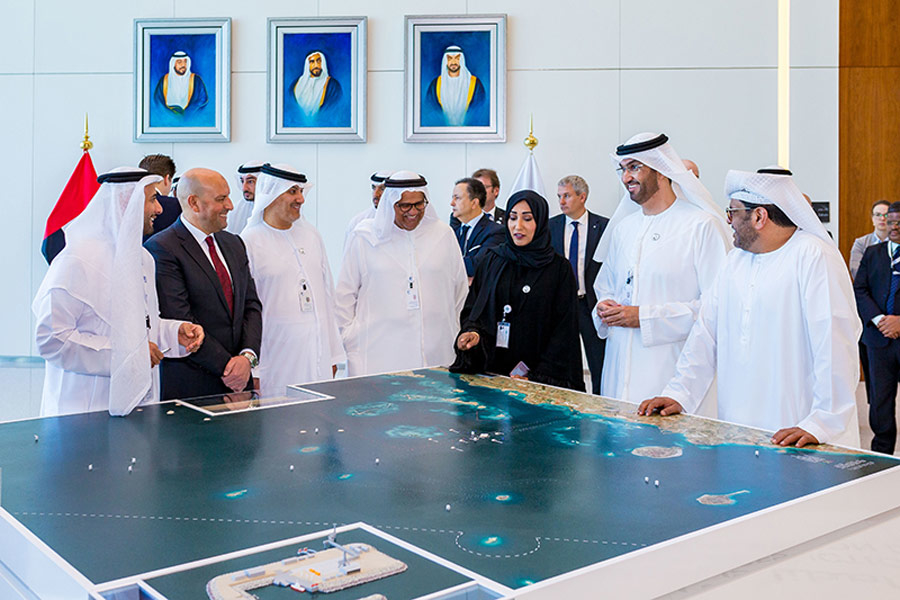 Adnoc has awarded NMDC a contract to build 10 artificial islands for Ghasha Concession.