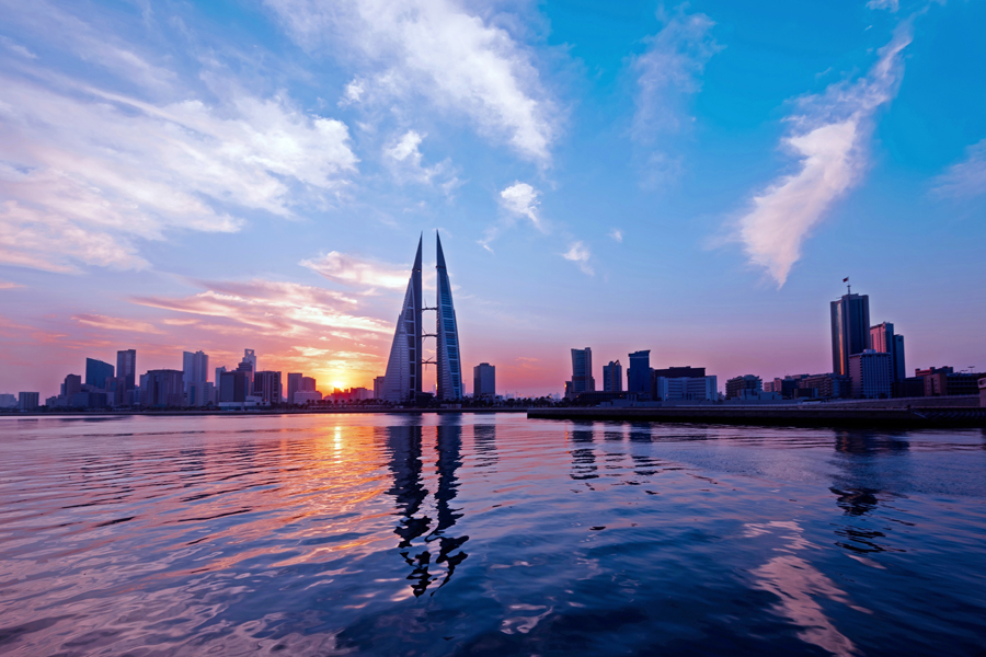 Non-oil growth is on the up in Bahrain, where economic diversification efforts are under way.
