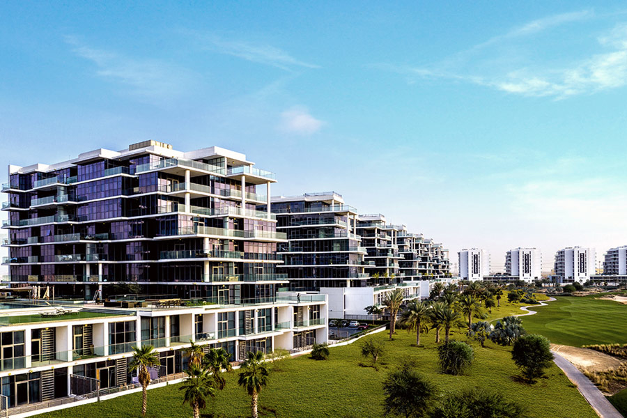 Golf Town is an apartment complex located within Dubai's Damac Hills community.