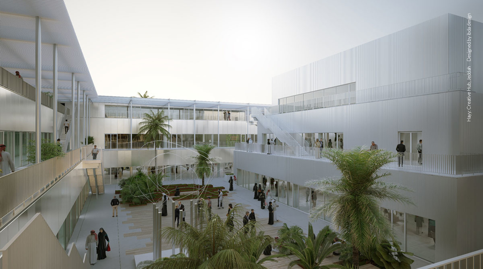 Hayy: Creative Hub is being developed in Jeddah by Art Jameel.