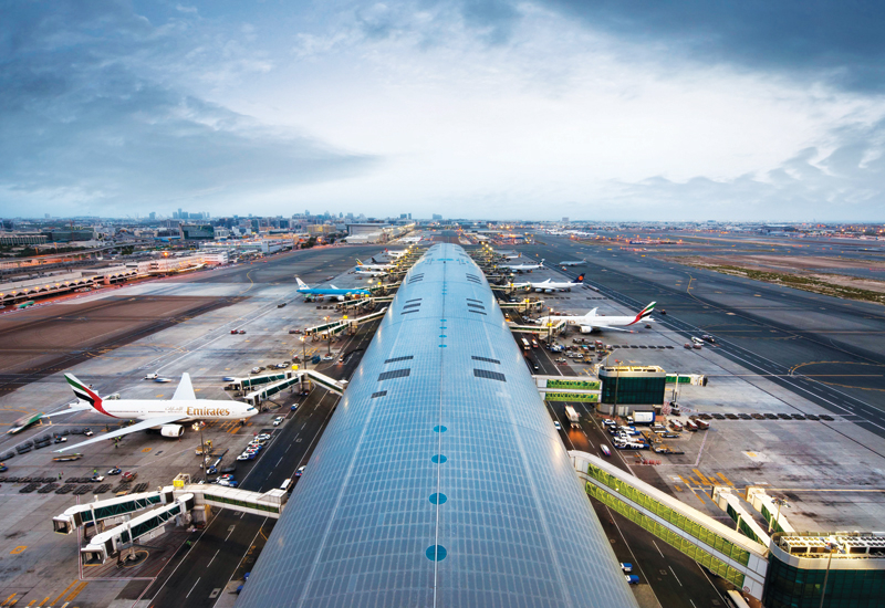 Dubai International Airport is the world's busiest aviation hub in terms of passenger traffic [representational image].