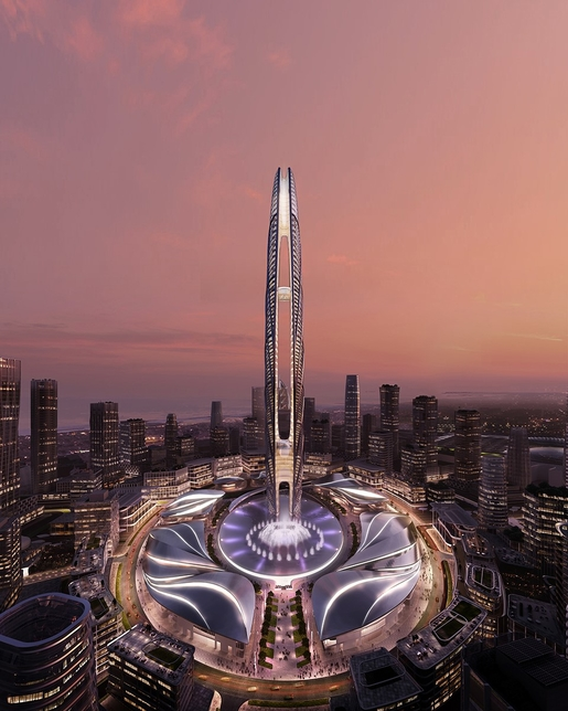 Burj Jumeira is a 550m-tall structure that was unveiled on 31 January, 2019 in Dubai.