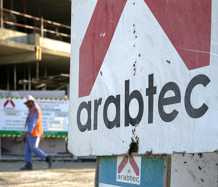Arabtec Holding is listed on DFM.