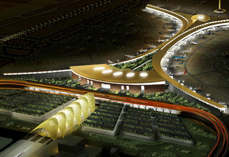 King Abdulaziz International Airport in Jeddah.