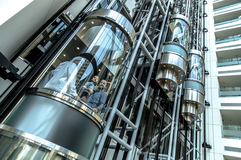 Finnish lift-maker Kone is using AI and the cloud for its elevator products.