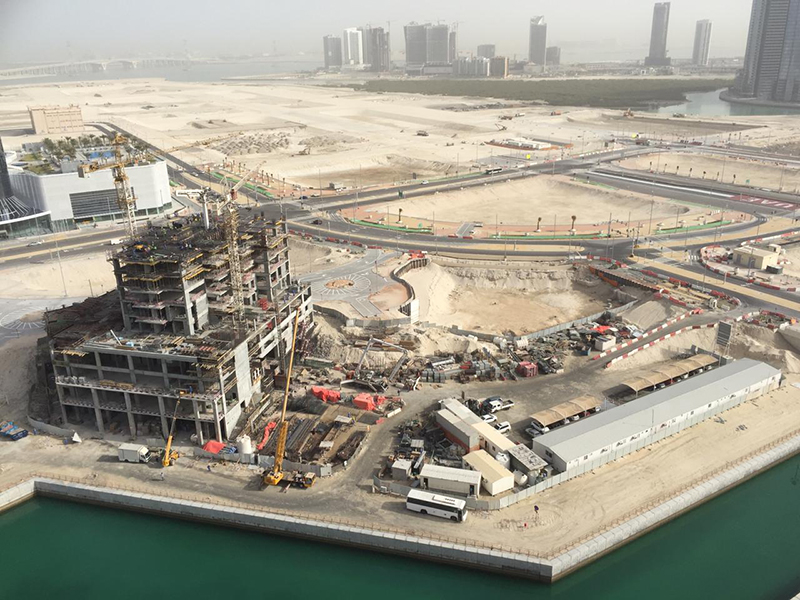 Eshraq is building the Marina Rise project in Abu Dhabi.