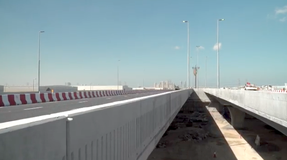 RTA has made progress on roadworks under way for Expo 2020 Dubai.