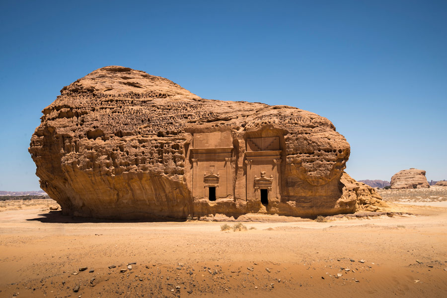 Al-Ula is an ancient region in Saudi Arabia that will house Sharaan Natural Reserve.