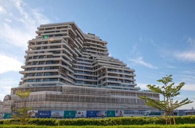 The Azizi Aliyah homes in Dubai Healthcare City are 90% complete.