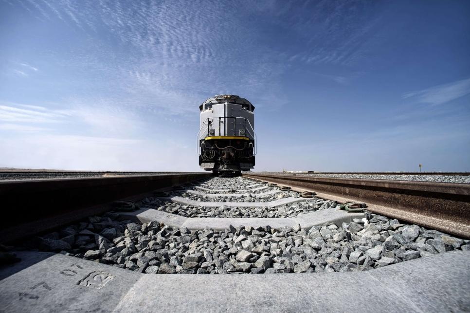 Etihad Rail will be linked with Khalifa Port in Abu Dhabi.