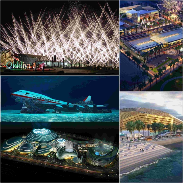 The Gulf's top entertainment construction projects of 2019 have been revealed.