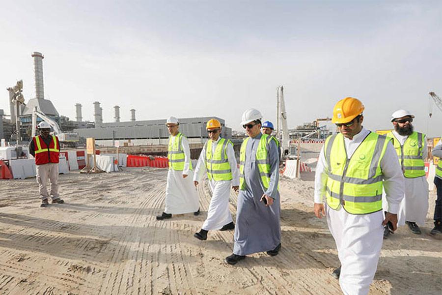 Acciona and Besix are building Dewa's desalination plant in Jebel Ali, Dubai.