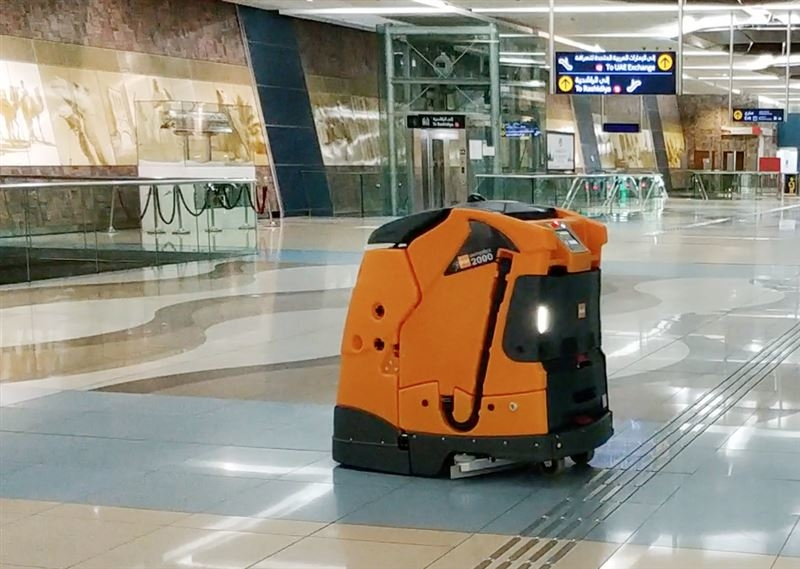RTA has started using robots to clean Dubai Metro stations in its latest technology push.