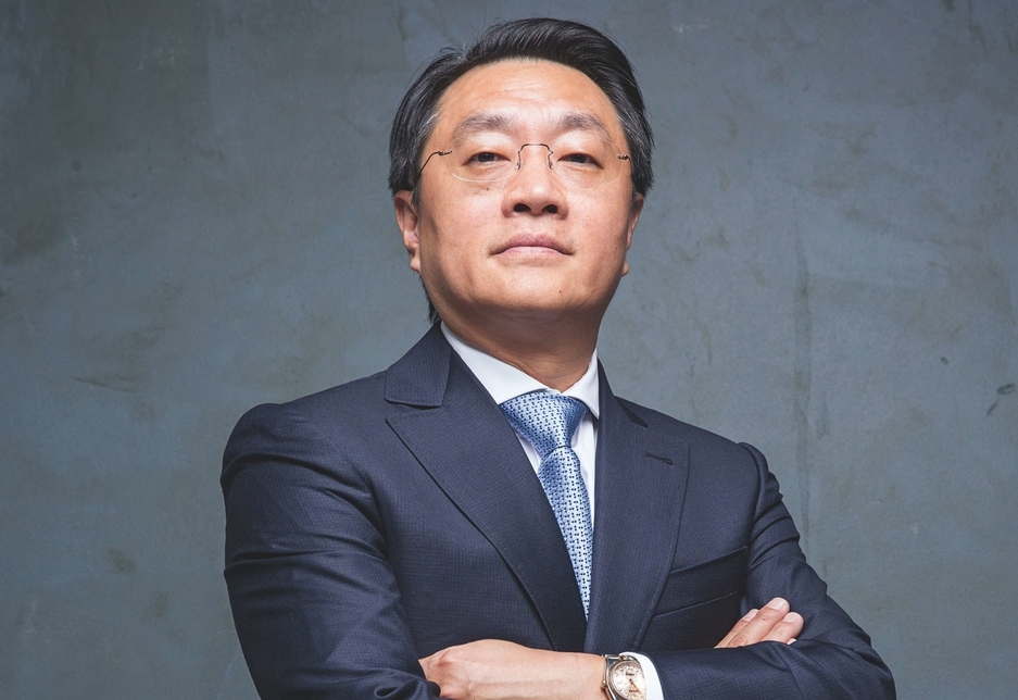 Yu Tao is crowned this year's most influential member of the Middle East construcition industry