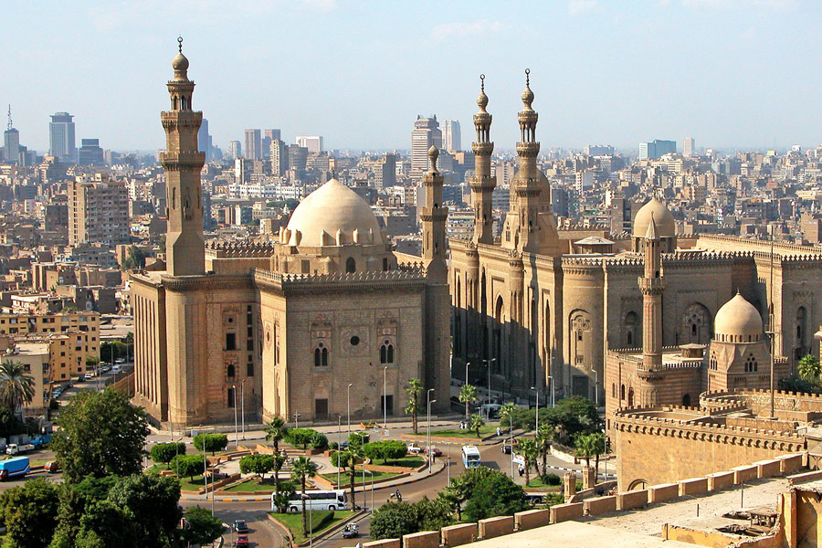 Egypt's Administrative Capital will be about 45km east of Cairo [pictured].