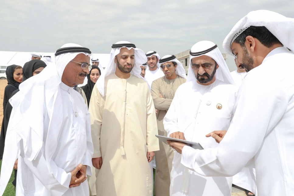 HH Sheikh Mohammed approved an $8.7bn housing plan in Feb 2019.