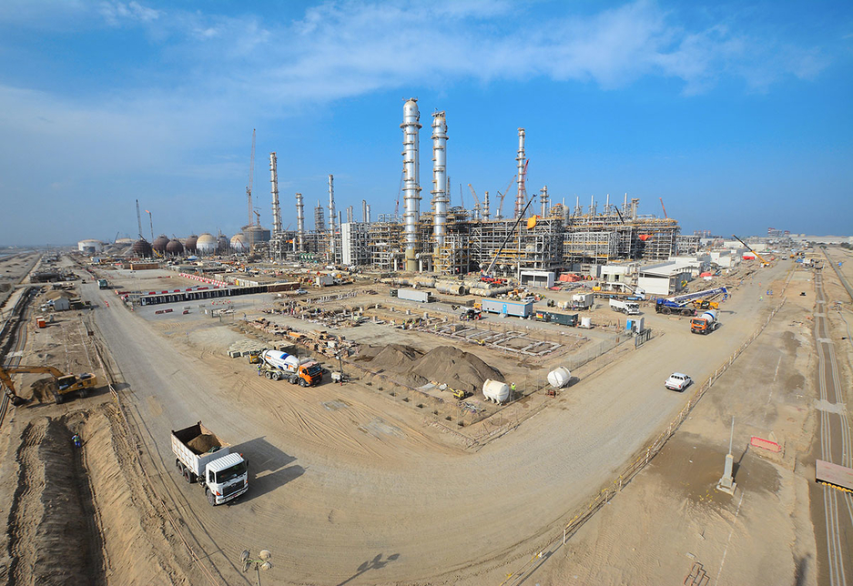 McDermott has a strong track record of EPC projects in the Middle East.