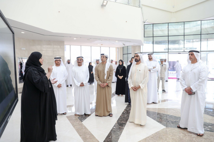 HH Sheikh Mohammed reviewed infrastructure projects in the northern region of the UAE.