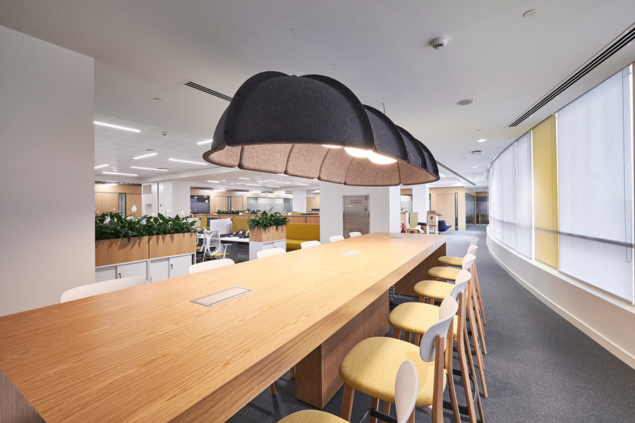 ISG has completed fit-out work for Abu Dhabi's ADDA.