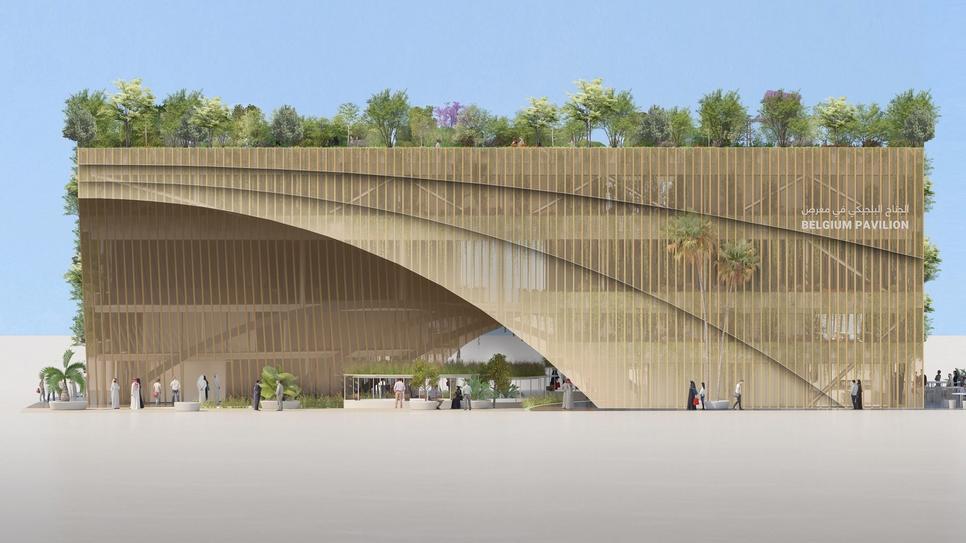 Besix will build the Belgium Pavilion for Expo 2020 Dubai.