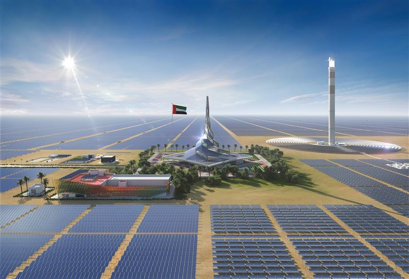 Dewa is developing Mohammed Bin Rashid Solar Park.