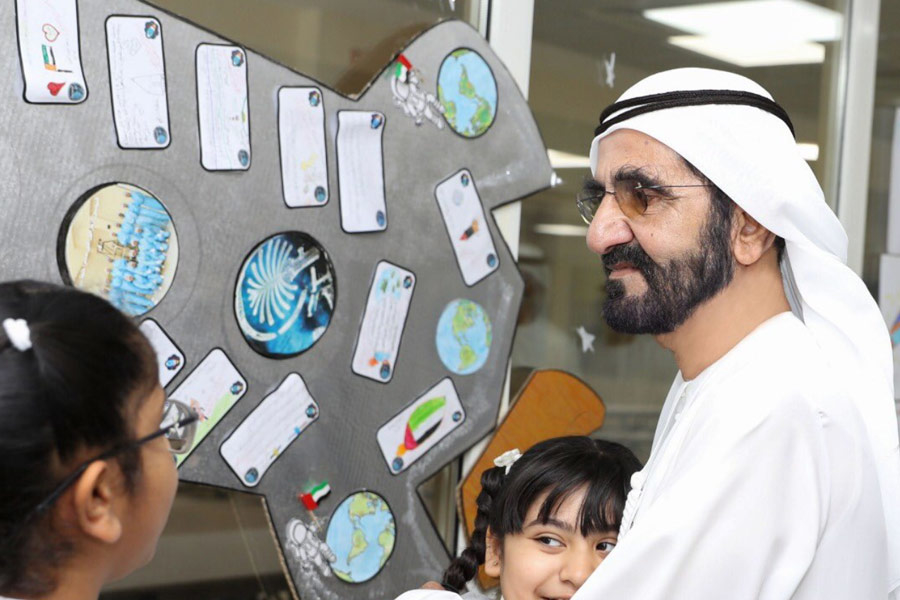 HH Sheikh Mohammed approved a budget to build schools of the future in the UAE.
