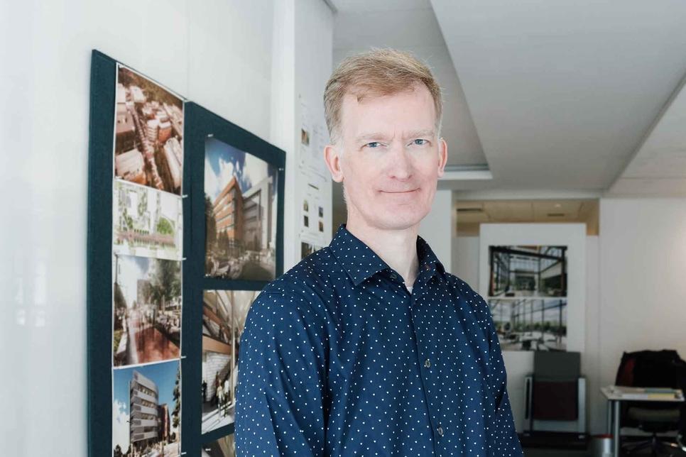 Morgan Fleming will work as design director at Perkins + Will's Dubai studio.