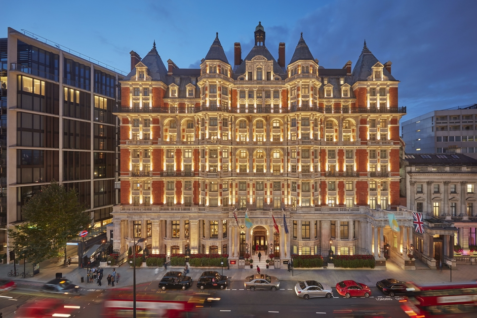 London's Mandarin Oriental Hyde Park will reopen in April 2019.